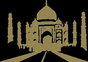Taj Mahal stilizzato Zingaro di Macondo