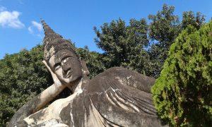 Statua del Buddha Zingaro di Macondo