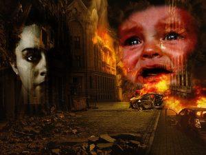 Bambino in guerra Zingaro di Macondo