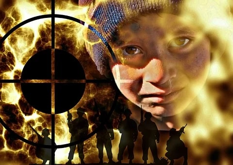 i bambini soldato nel mondo Zingaro di Macondo