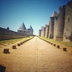 Carcassonne la città dei Templari Zingaro di Macondo