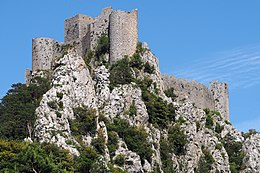 Castello di Puilaurens. Viaggio tra i castelli catari nel sud della Francia. Zingaro di Macondo