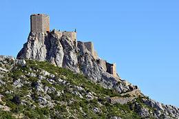 Il castello albigese di Queribus. Zingaro di Macondo